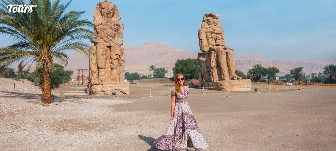 Colossi of Memnon - 5 Days Nile Cruise From Hurghada - Tours From Hurghada