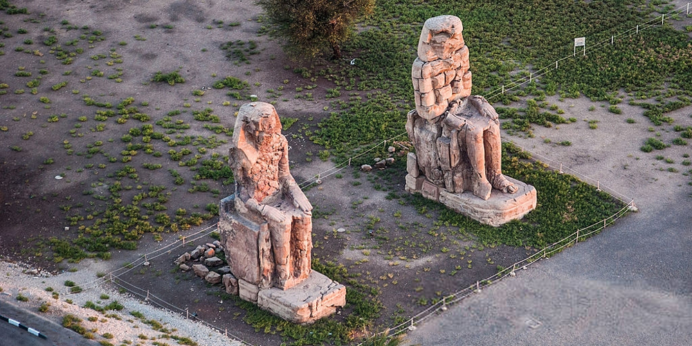 Colossi of Memnon - Two Days Trip from El Gouna to Luxor & Abu Simbel - Tours From Hurghada