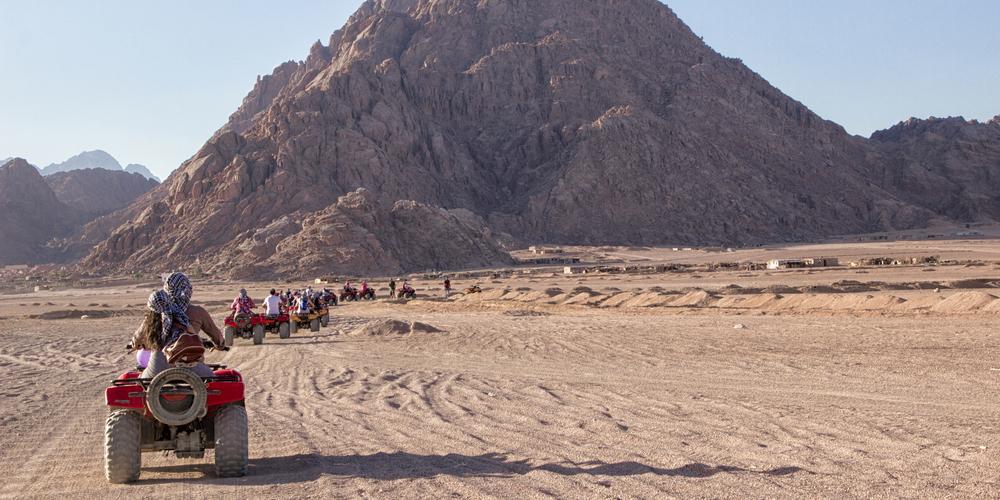 El Gouna Quad Bike - El Gouna Super Safari By Quad - Tours From Hurghada