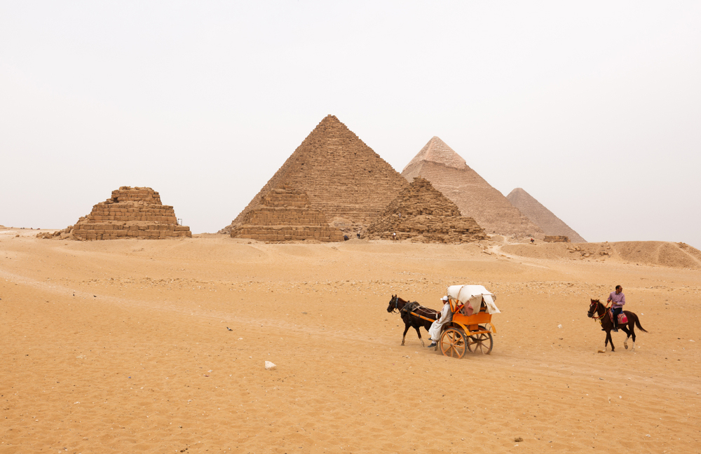 Giza Pyramids - Two Days Cairo & Luxor Tours from Hurghada - Tours from hurghada