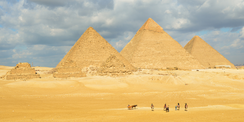 Giza Pyramids - 3 Days Egypt Tour From El Gouna - Tours From Hurghada