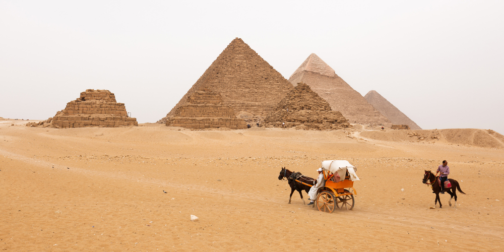 Giza Pyramids Complex - 2 Days Cairo Trips From El Gouna - Tours from Hurghada