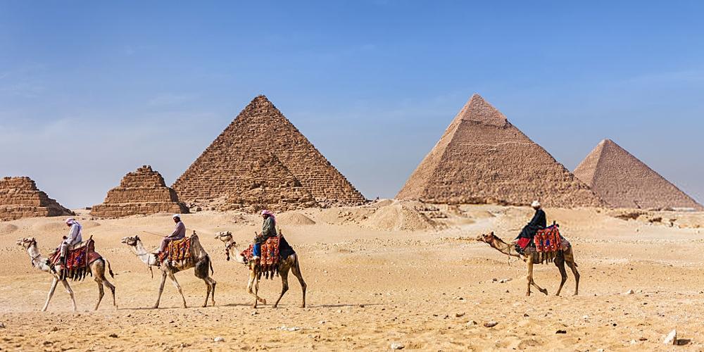 Giza Pyramids Complex - El Gouna Day Trips To Pyramids - Tours from Hurghada