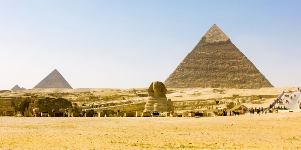 Giza Pyramids - El Gouna Day Trips To Pyramids - Tours from Hurghada