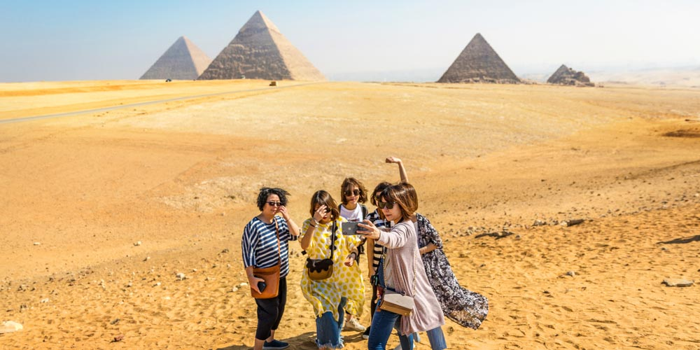 Giza Pyramids - Day Trip to Cairo from Hurghada by Plane - Tours from Hurghada