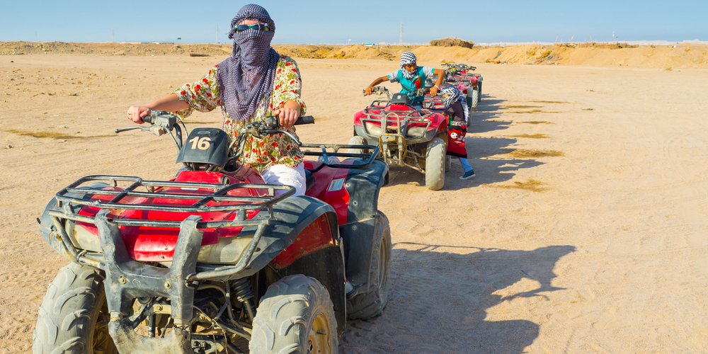 Quab Bike - El Gouna Super Safari By Quad - Tours From Hurghada