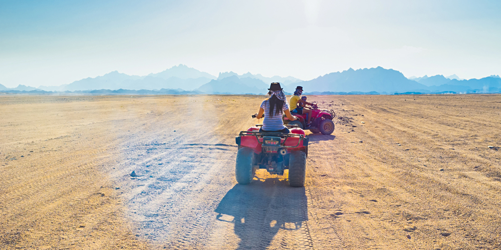 Quad Driving - El Gouna Super Safari By Quad - Tours From Hurghada