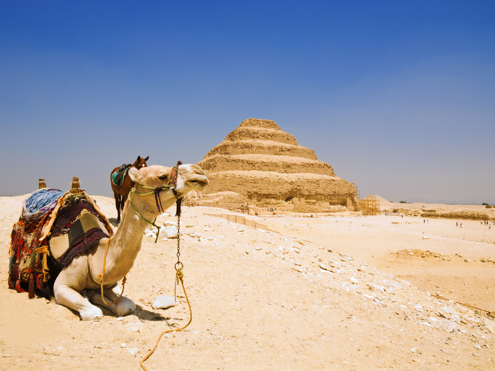 Saqqara Pyramid - Two Days Trips from Hurghada to Cairo by Plane - Tours From Hurghada