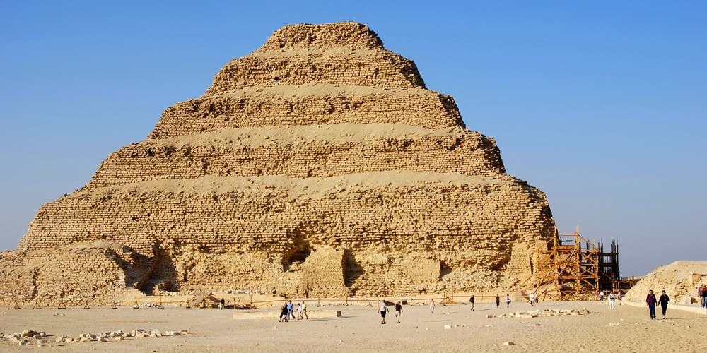 Saqqara pyramid - Day Trips to Cairo from El Gouna by bus - Tours From Hurghada