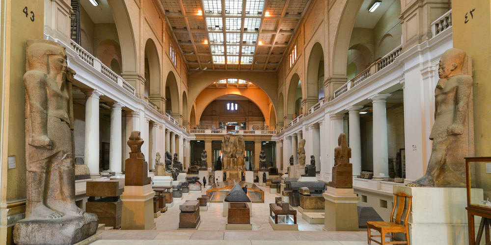 the Egyptian Museum - Day Trip To Cairo From El Gouna By Bus - Tours from Hurghada