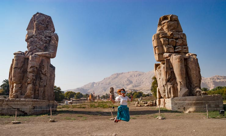 Colossi Of Memnon - 2 Days Trip from Marsa Alam to Luxor & Abu Simbel - Tours from Hurghada