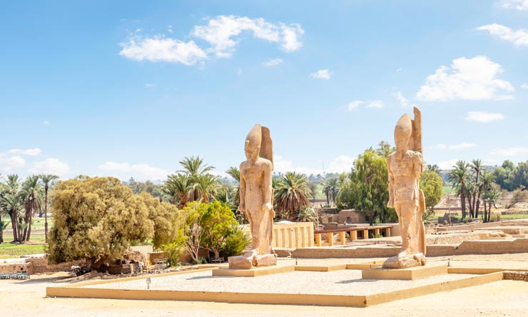 Colossi of Amenhotep - 2 Day Trip to Luxor From Makadi Luxor tour from Makadi - Tours from Hurghada