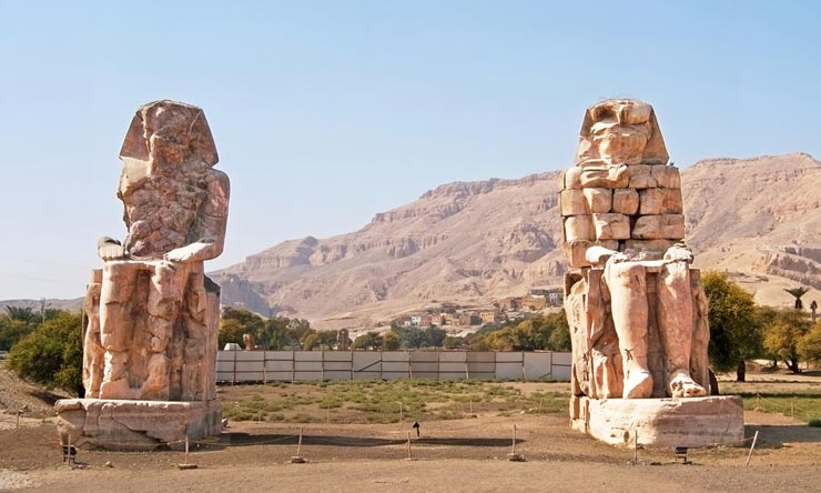 Colossi of Memnon - 2 Day Trip to Luxor From Makadi Luxor tour from Makadi - Tours from Hurghada