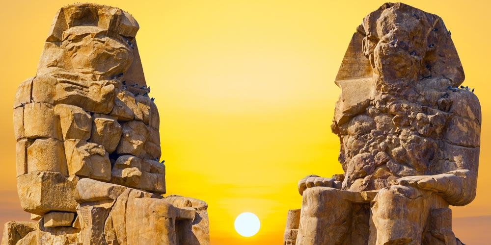 Colossi of Memnon - Best of Egypt from Makadi - Tours from Hurghada