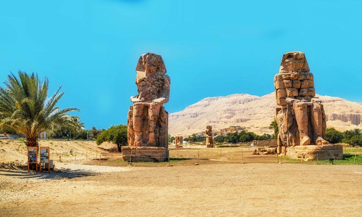 Colossi of Memnon - Luxor Day Trip From Marsa Alam - Tours from Hurghada