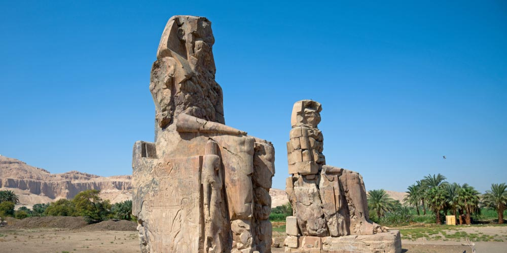 Colossi of Memnon - Luxor Day Trip from Makadi - Tours from Hurghada