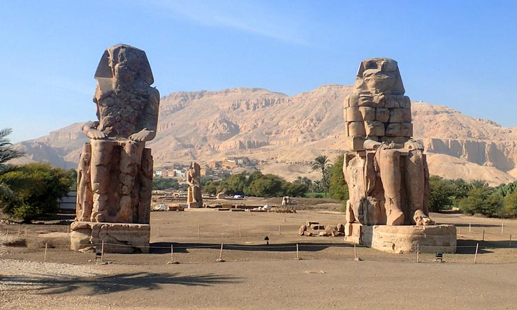 Colossi of Memnon - Two Days Luxor Trips from Marsa Alam - Tours from Hurghada
