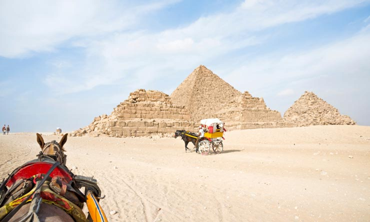 Giza Pyramids Complex - 2 Days Trip from Marsa Alam to Cairo by Plane - Tours from Hurghada