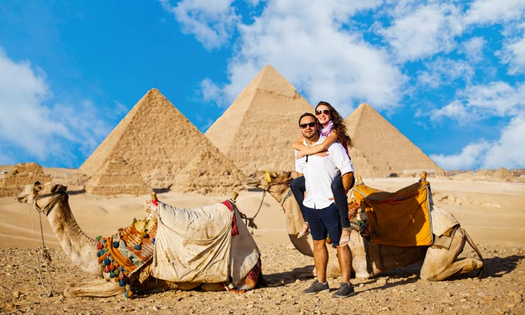 Giza Pyramids - Day Trip From Marsa Alam to Cairo by Plane - Tours from Hurghada