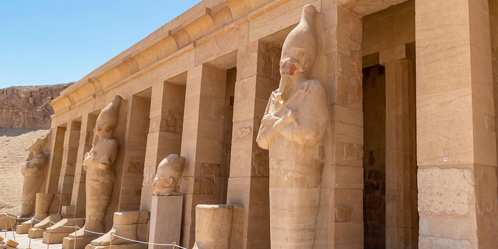 Hatshepsut Temple - 2 Day Trip to Cairo and Luxor from Makadi - Tours from Hurghada