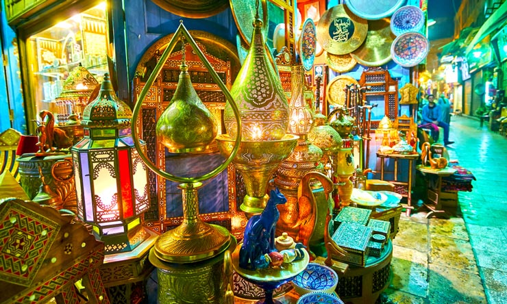 Khan El Khalili Bazaar - 2 Day trip to Cairo from Makadi by flight - Tours from Hurghada