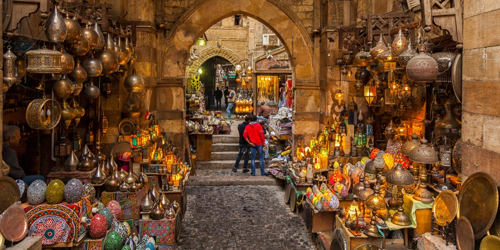 Khan El Khalili Bazaar - Overnight Tours to Cairo from Makadi by Bus - Tours from Hurghada
