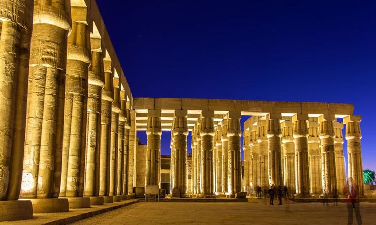 Luxor Temple By Night - Two Days Luxor Trips from Marsa Alam - Tours from Hurghada
