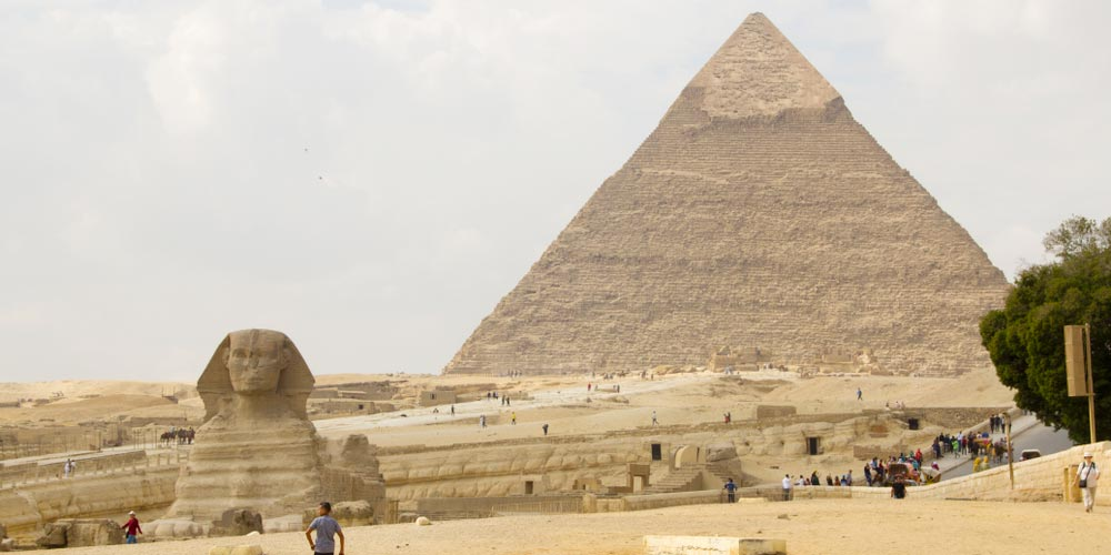Pyramids of Giza - Best of Egypt from Makadi - Tours from Hurghada