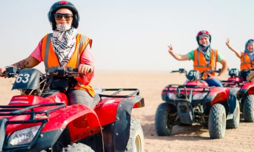Safari by quads in Makadi - Tours from Hurghada