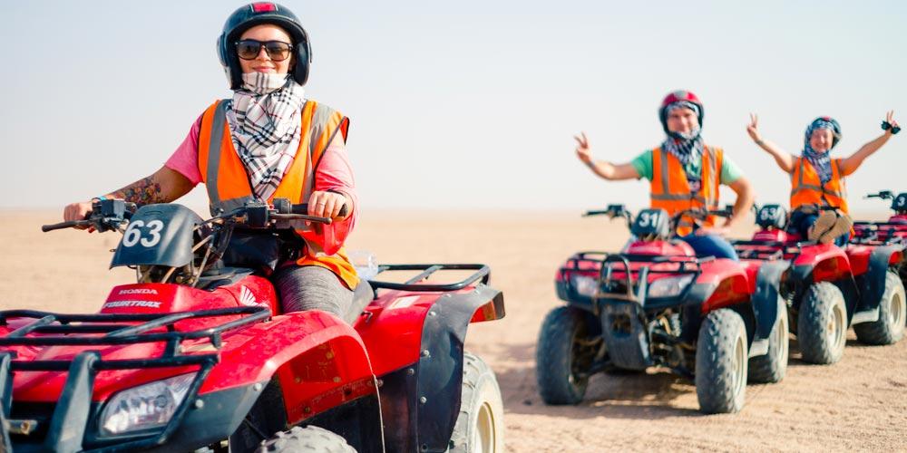 Safari by quads in Makadi - Tours from Hurghada