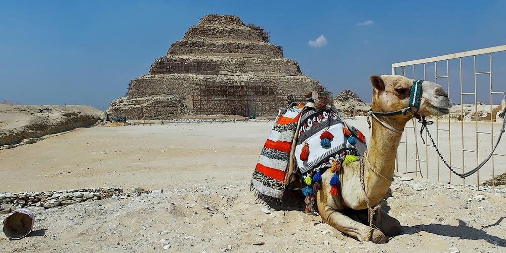Saqqara step Pyramid - Pyramids Tour from Makadi by Flight - Tours from Hurghada