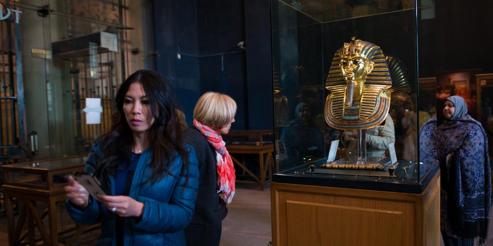 The Egyptian Museum - Cairo and Giza Pyramids from Makadi by flight and return by bus - Tours from Hurghada