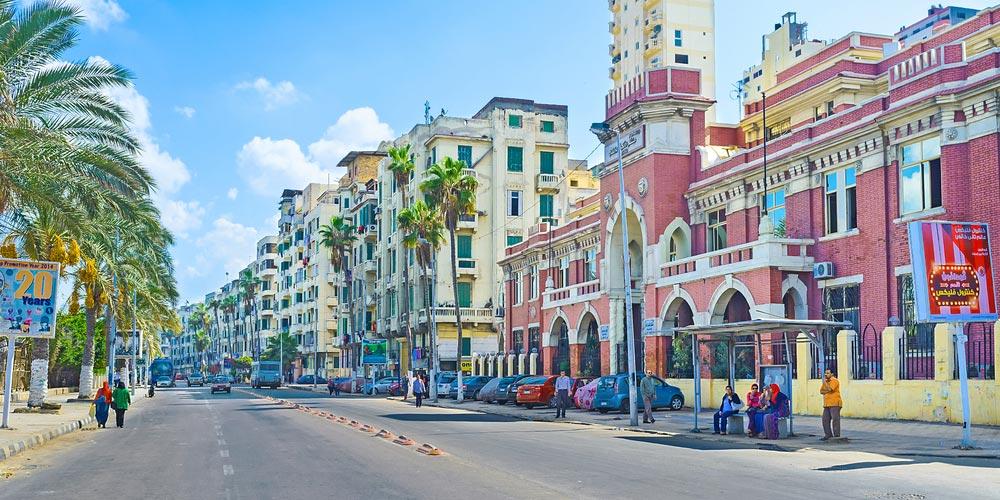 Alexandria City Location - Tours From Hurgahda