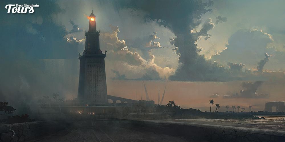 Alexandria Lighthouse - Alexandria City History - Alexandria City Attractions - Alexandria Activities Tours From Hurghada