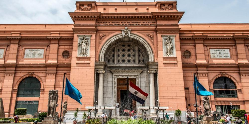Das Ägyptische Museum - Ausflug nach Kairo vonEl Gouna mit Einem Fahrzeug - Tours from Hurghada