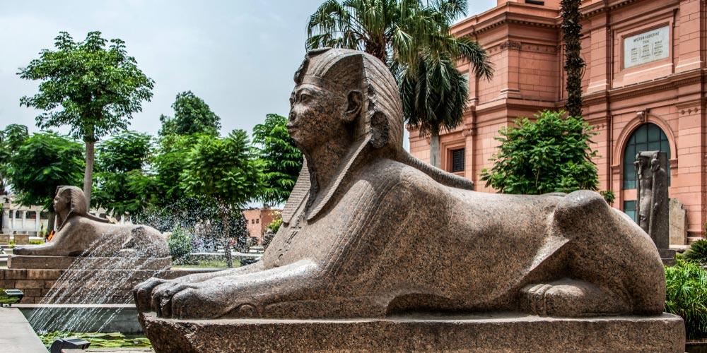 Das Ägyptische Museum - Ausflug nach Kairo vonEl Gouna mitFlug - Tours from Hurghada