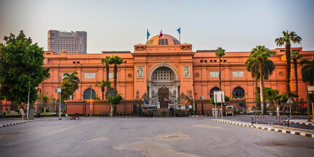 Das Ägyptische Museum - Ausflug nach Kairo vonMakadi mitEinem Fahrzeug - Tours from Hurghada