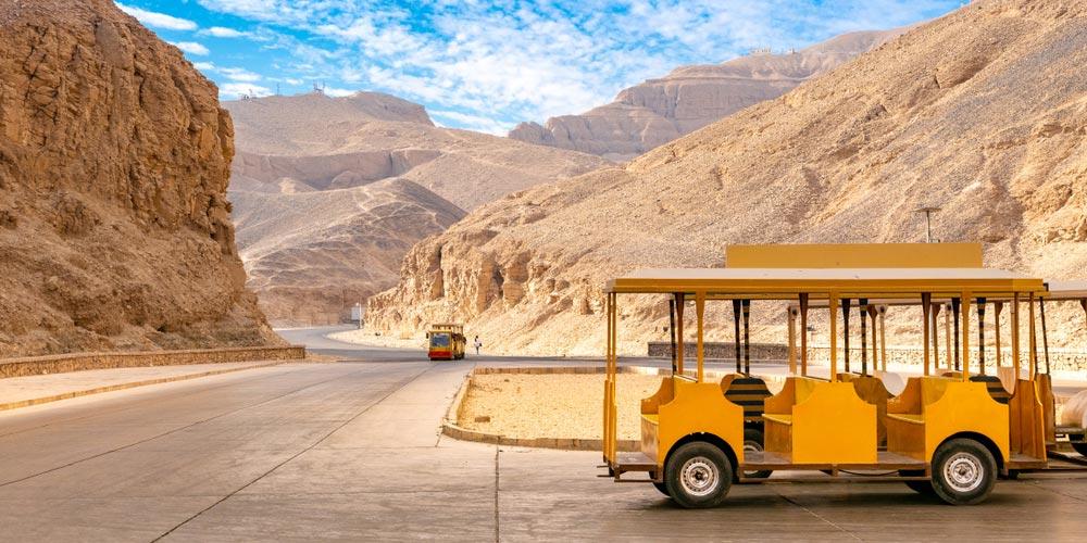 Das Tal der Könige - Luxor Tagesausflug von El Gouna - Tours from Hurghada