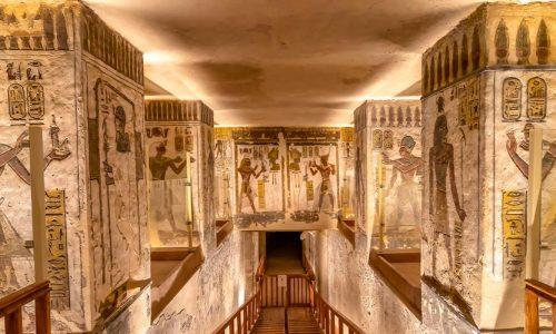 Das Tal der Könige - Tagesausflug von Makadi nach Luxor - Tours from Hurghada
