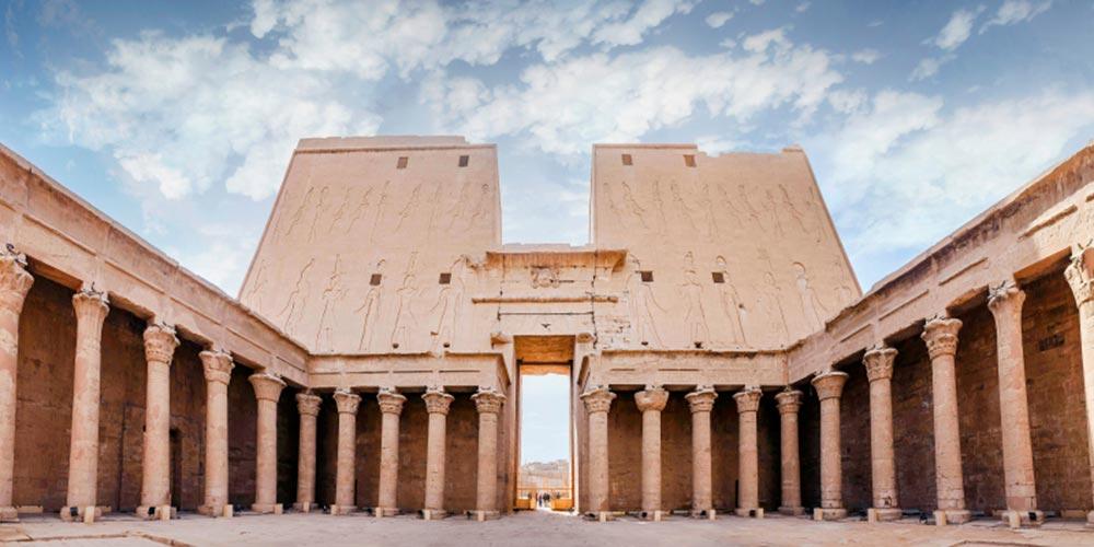 Den Edfu Tempel - 4 Täge Nilkreuzfahrt von EL Gouna - Tours from Hurghada
