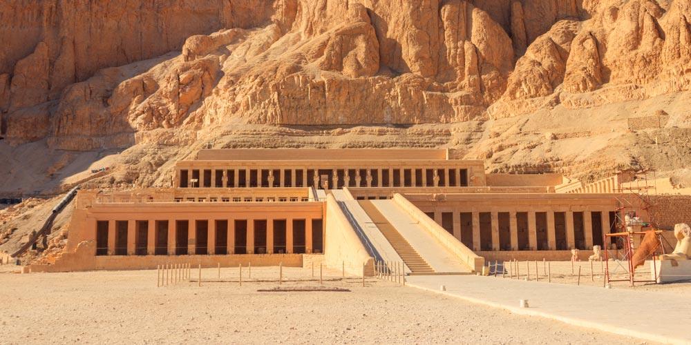 Den Hatschepsut Tempel - Ägypten Highlights von Makadi - Tours from Hurghada
