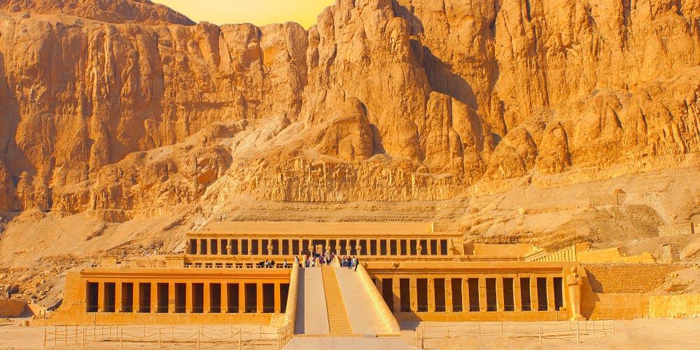 Den Hatschepsut Tempel - 2 Tägiger Ausflug nach Kairo und Luxor von EL Gouna mit Flug - Tours from Hurghada