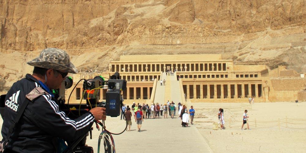 Den Hatschepsut Tempel - 2 Tagiger Ausflug Nach Luxor und Abu Simbel von Makadi - Tours from Hurghada