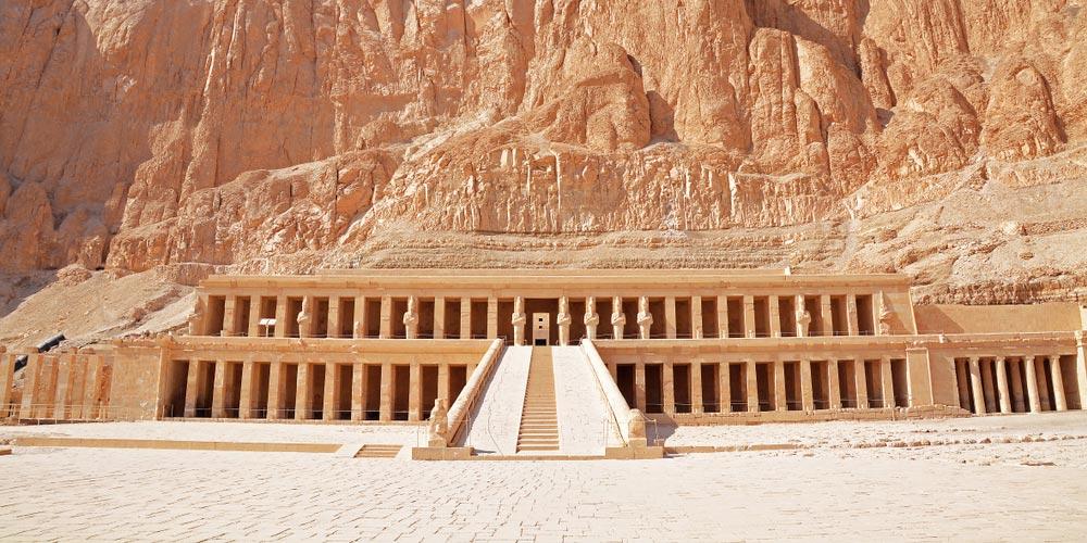 Den Hatschepsut Tempel - 2-tägiger Ausflug Luxor und Abu Simbel von Hurghada - Tours from Hurghada