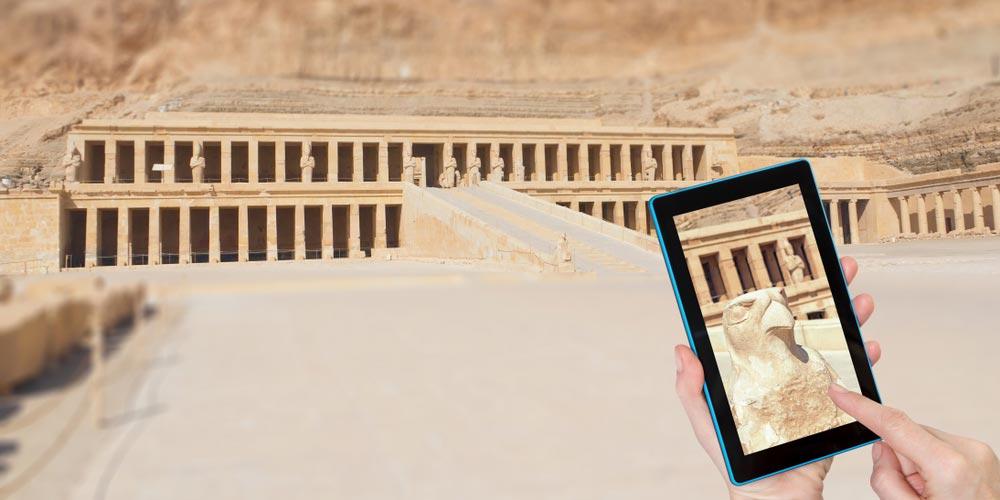Den Hatschepsut Tempel - Luxor Tagesausflug von El Gouna - Tours from Hurghada