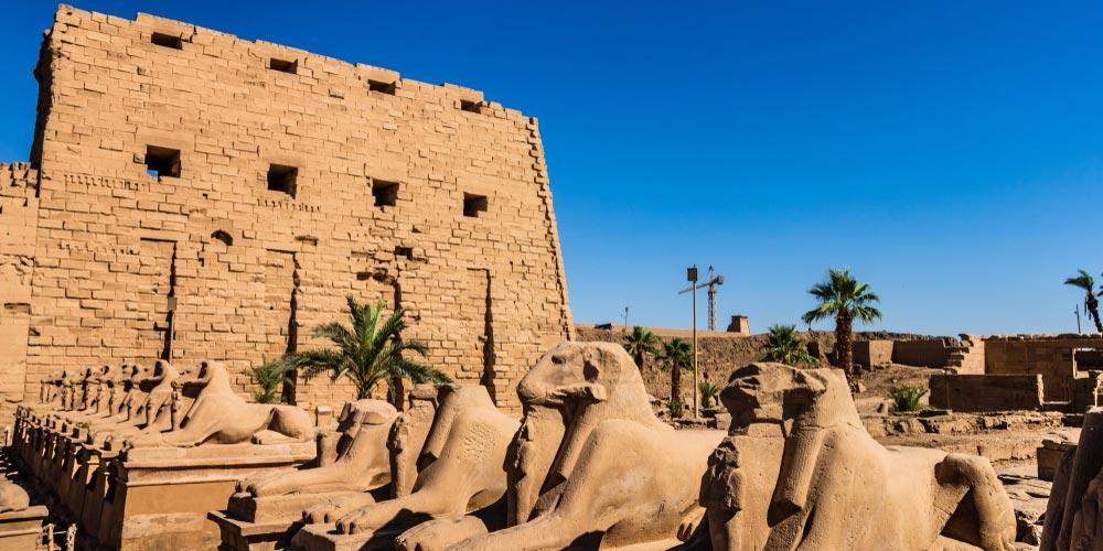 Den Karnak Tempel - Luxor Tagesausflug von El Gouna - Tours from Hurghada