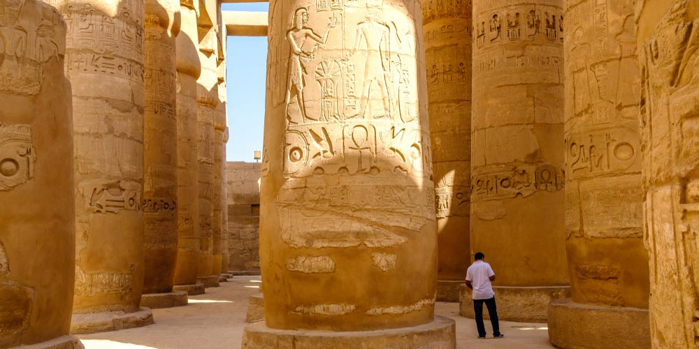 Den Karnak Tempel - Tagesausflug von Makadi nach Luxor - Tours from Hurghada