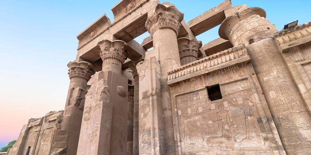 Den Kom Ombo Tempel - 4 Täge Luxor und Aswan Nilkreuzfahrt von Makadi - Tours from Hurghada