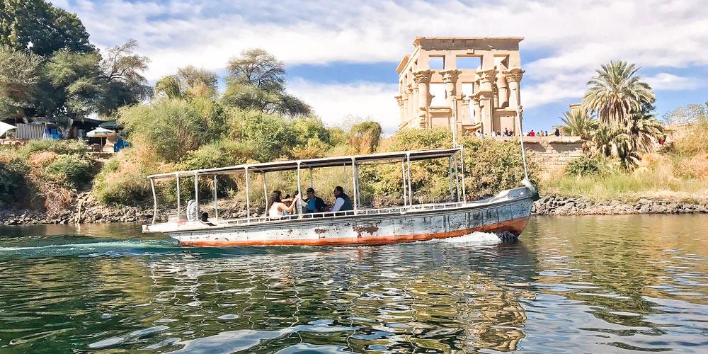 Den Philea Tempel - 4 Täge Nilkreuzfahrt von EL Gouna - Tours from Hurghada
