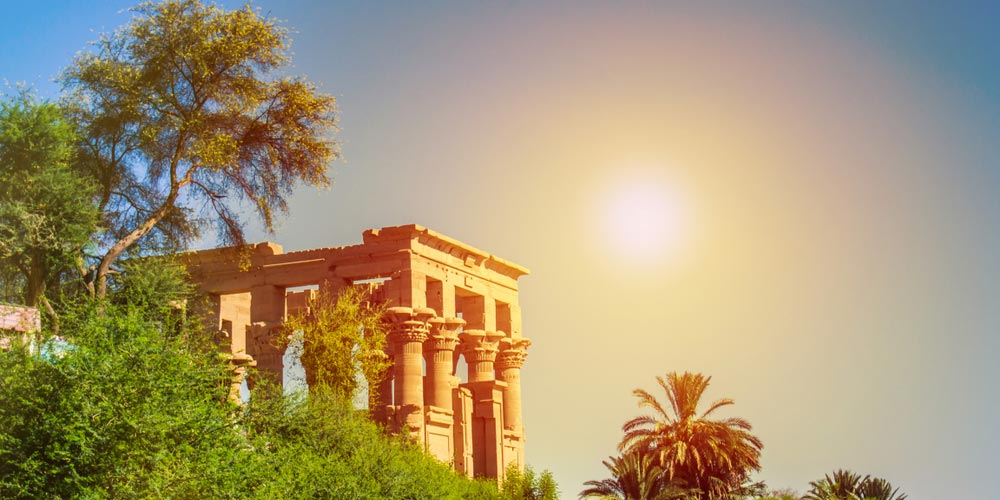 Den Philea-Tempel - Ausflug nach Assuan und Abu Simbel von Hurghada - Tours from Hurghada